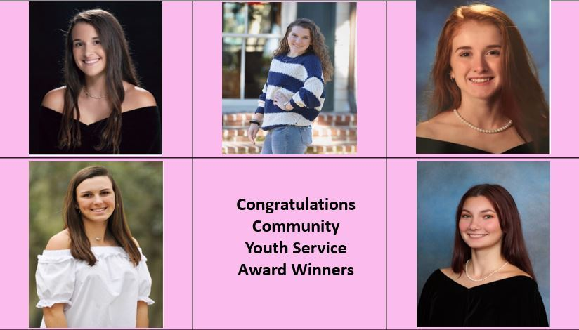 WAHHI Announces 2020 Youth Community Service Award Winners!